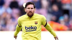 Messi Disappointed Athletic Bilbao